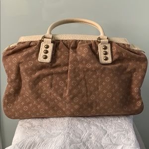 Louis Vuitton Mini Monogram Trapzen bag
